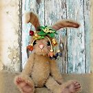 Handmade bears from Teddy Bear Orphans - Rhianna Rabbit by Penny Bonser