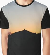 Glastonbury Tor Graphic T-Shirt