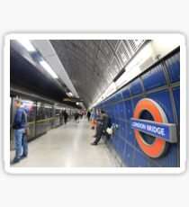London Bridge's Underground Sticker