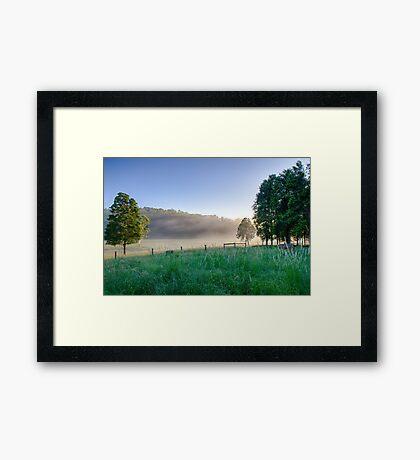 Translucent Sunrise Framed Print