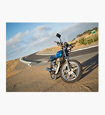 CB250T Cafe Racer Photographic Print
