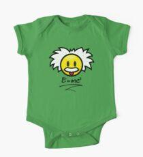 Einstein Smiley + E=mc² Kids Clothes