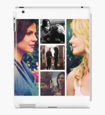 swan queen development iPad Case/Skin