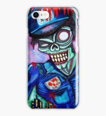 Zombie Cop (Horror Comics, Zombies) iPhone Case/Skin