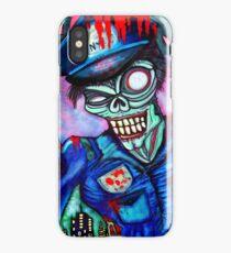 Zombie Cop (Horror Comics, Zombies) iPhone Case