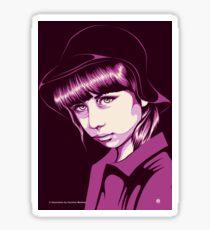 Pop Art Portrait Sticker