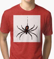Artistic black widow spider ipad case Tri-blend T-Shirt