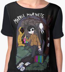 Marble Hornets Women's Chiffon Top