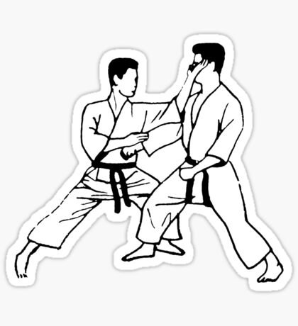 haito-uchi Sticker