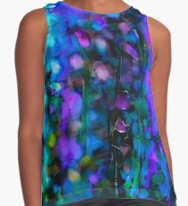 Abstract Art Floral Duvet Cover Contrast Tank