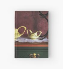 Vintage Yellow Tea Set - Selected in Solo Exhibition women in the arts Hardcover Journal