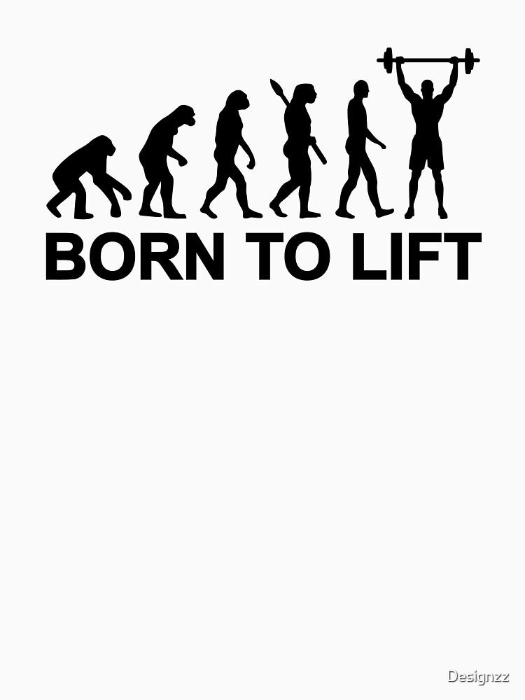 Evolution weightlifting by Designzz