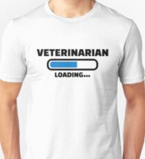 Veterinarian loading Unisex T-Shirt