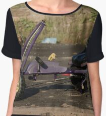 Abandoned Kart Women's Chiffon Top