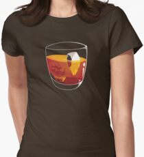 On The Rocks Women's Fitted T-Shirt