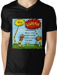 The Lorax Unless Some One Like You Mens V-Neck T-Shirt
