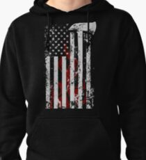 American Firefighter Pullover Hoodie