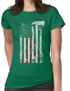 American Firefighter Womens Fitted T-Shirt