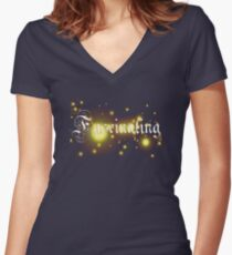 Fascinating T-Shirt 2 Women's Fitted V-Neck T-Shirt