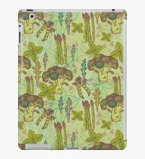 Green vegetables pattern. iPad Case/Skin