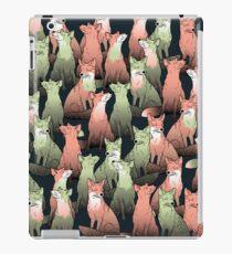 Sleeping foxes iPad Case/Skin