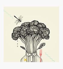 Mr. Broccoli Photographic Print