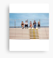 The Perks of Being a Wallflower Cast Metal Print