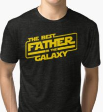 The Best Father In The Galaxy Tri-blend T-Shirt