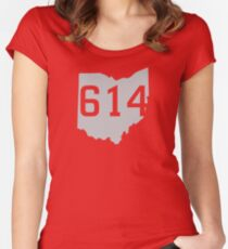 614 Pride Women's Fitted Scoop T-Shirt