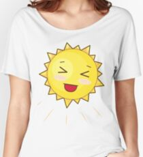 Cute Sunny Smile Women's Relaxed Fit T-Shirt