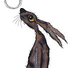 MOONGAZING HARE h2499 by Hares & Critters