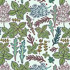 herbs pattern by smalldrawing