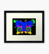 Moony the Snail Framed Print