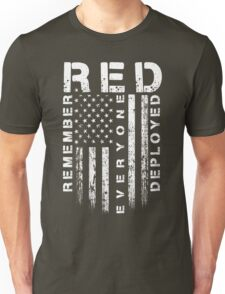 Red Friday - Remember Everyone Deployed Unisex T-Shirt