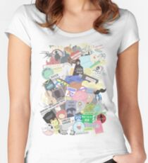 Ultimate Sherlock  Women's Fitted Scoop T-Shirt