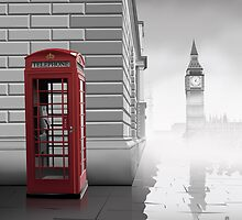 London  by _ VectorInk
