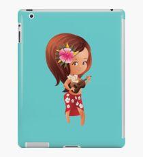 Ukulele girl iPad Case/Skin