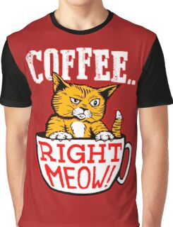 Cat Meow Graphic T-Shirt