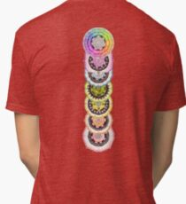 Seven Chakras Tri-blend T-Shirt