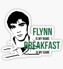 Flynn Loves Breakfast Sticker