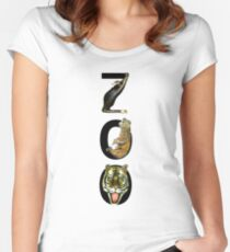 ZOO Women's Fitted Scoop T-Shirt