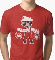PLUMBER BETWEEN WORLDS Tri-blend T-Shirt