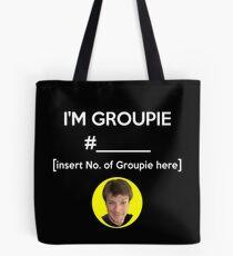 """I'm Groupie Number.... "" Joss Whedon's Dr. Horrible - Light Tote Bag"