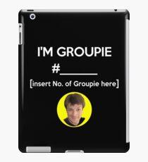 """I'm Groupie Number.... "" Joss Whedon's Dr. Horrible - Light iPad Case/Skin"