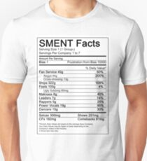 SMENT Nutrition Facts T-Shirt