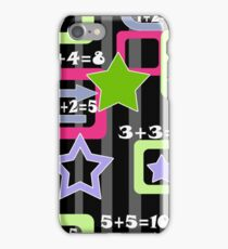Creative design for children and teenagers. School. iPhone Case/Skin