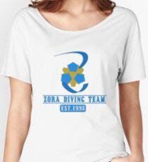 Zora Diving Team Women's Relaxed Fit T-Shirt
