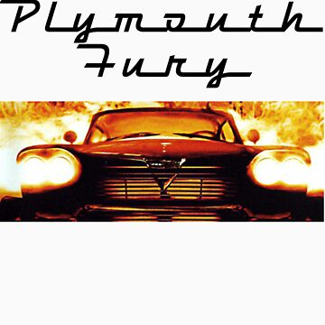 Christine - 1958 Plymouth Fury (Fire) by jimmynails