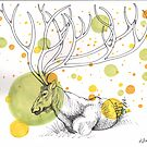 Cosmic Caribou by Kat Anderson