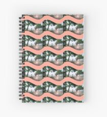 porch by the sea Spiral Notebook